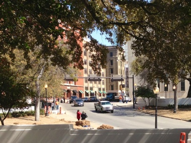 Pic 3: The view from the Grassy Knoll